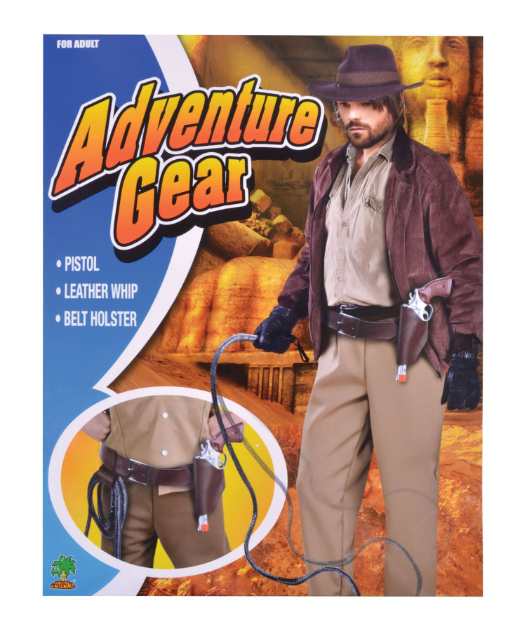 Adventurer Holster + Belt Set