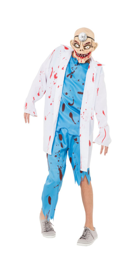 Mad Surgeron (Coat, Tousers + Mask), Halloween