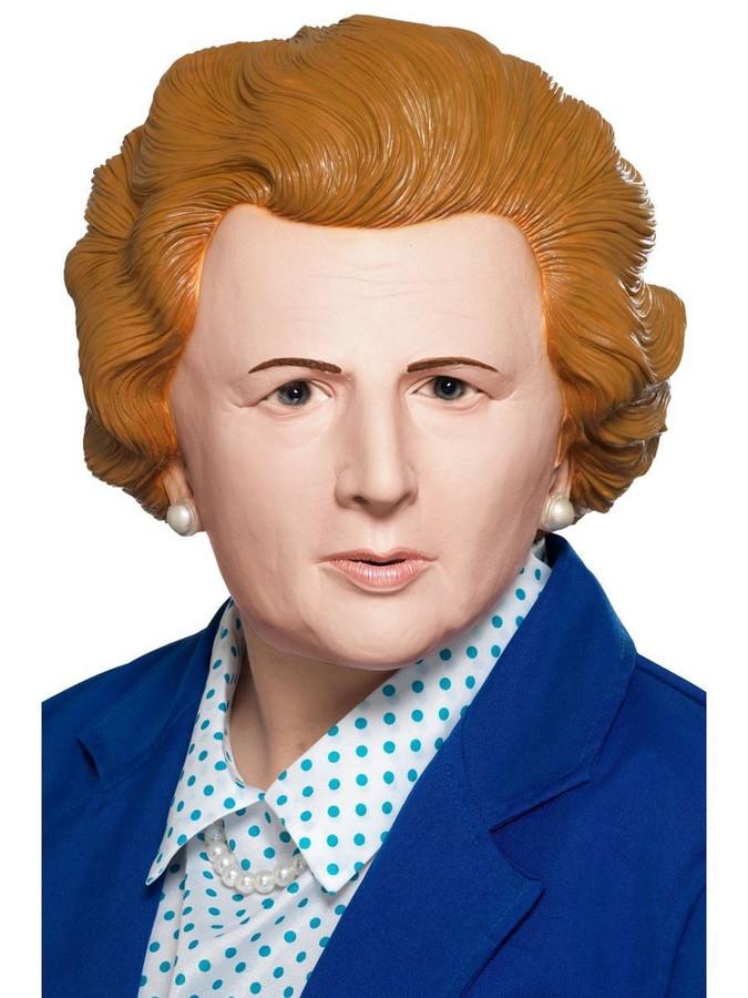 Margaret Thatcher Iron Lady Mask Latex, Fancy Dress, One Size