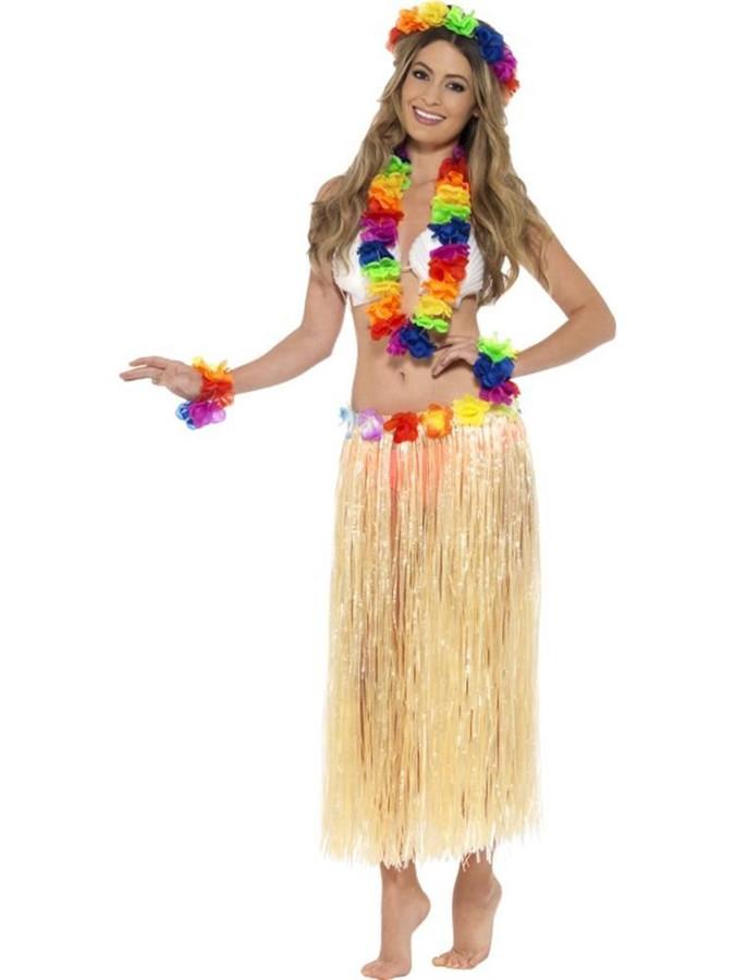 Rainbow Hawaiian Set, Light Up and Party, Multi Coloured