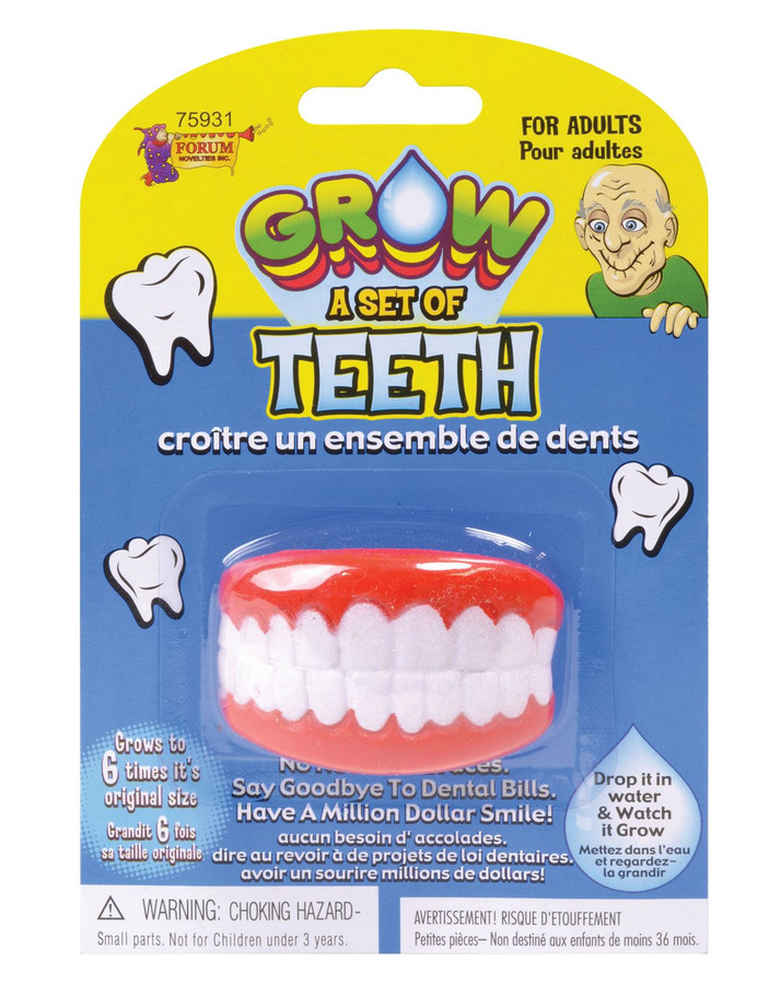 Grow Your Own Teeth