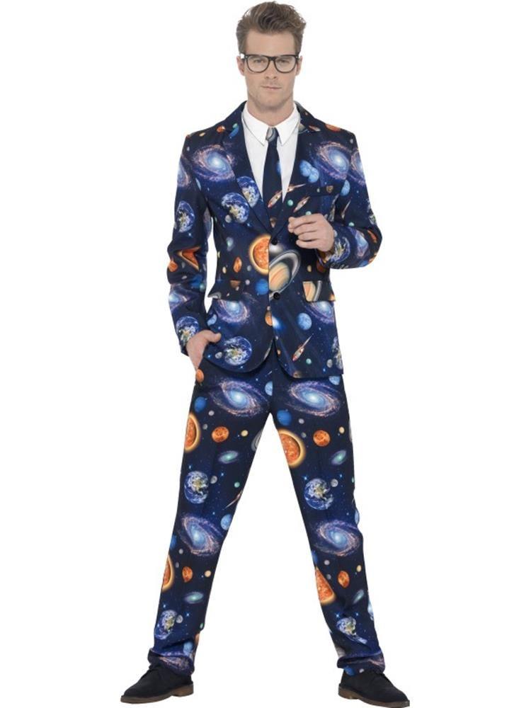 6769d6bb5563 Space Suit, XL, Adult Astronaut Fancy Dress Costumes, Mens - We're ...