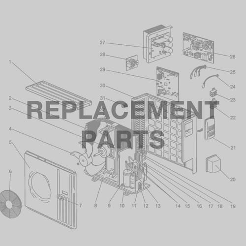 Reversing valve SENL/24CD/OX