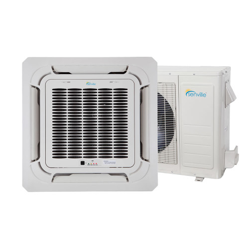 18000 BTU Ceiling Cassette Air Conditioner - Heat Pump - SENA/18HF/IC