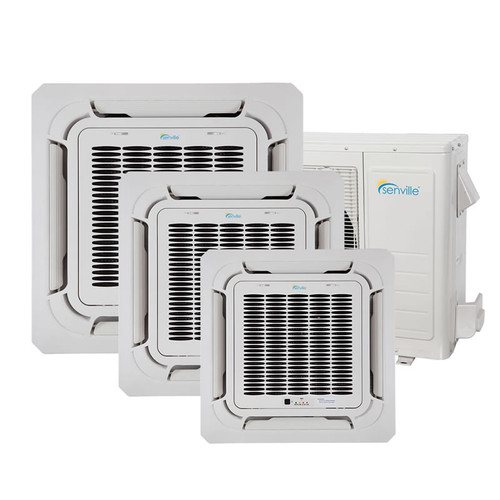 36000 BTU Tri-Zone Mini Split Air Conditioner - Heat Pump - SENA/36HF/TIC