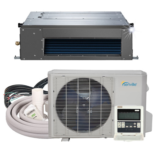12000 BTU Concealed Duct Air Conditioner - Heat Pump - SENA/12HF/ID