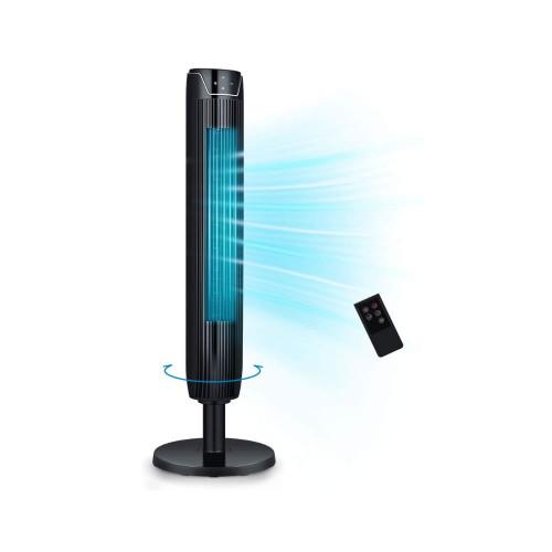 "42"" Oscillating Tower Fan 3 Speed Remote Control SENTF-19JRA"
