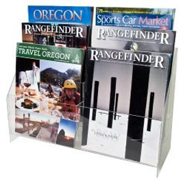 8.5x11 Brochure Holder 6 Pockets 3 Tiers