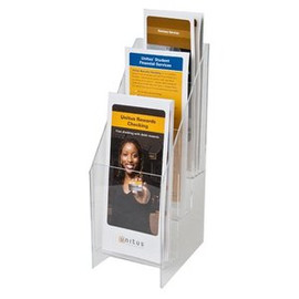 4x9 Brochure Holder 3 Pockets 3 Tiers