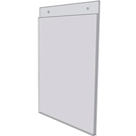 11x14 Wall Mount Sign Holder With Holes