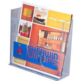 7.5 Wide CounterTop Brochure Holder