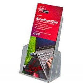 4x9 Tri-Fold Brochure Literature Holder