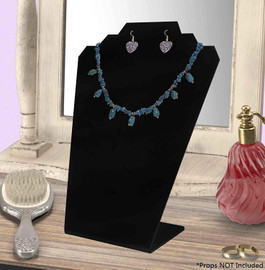 Black Acrylic Jewelry Display Stand