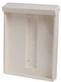 9x12 Plastic Outdoor Information Box