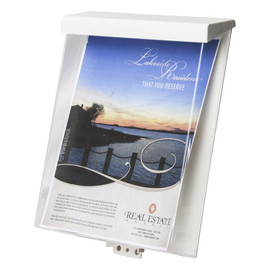 8.5x11 Outdoor Information Box-Heavy Duty Photo