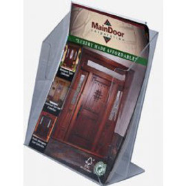 8.5x11 Clear Brochure Holder