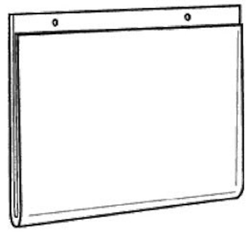 11x8.5 Wall Mount Sign Holder with Holes