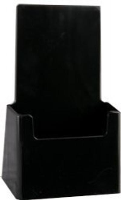 4x9 Tri-fold Top Selling Black Brochure Holder
