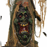Haunted Hill Farm Haunted Hill Farm 5.58-ft Tree Man, Indoor/Covered Outdoor Halloween Decoration, LED Red Eyes, Poseable, Battery-Operated, Onyx the Oak, HHTREE-4FLSA