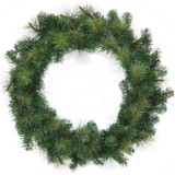 Fraser Hill Farm 48 Southern Peace Artificial Holiday Wreath