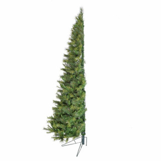 Fraser Hill Farm 6.5-ft Half Tree with Clear LED Lighting, Various Size Options