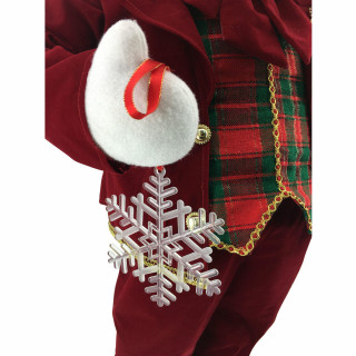 Fraser Hill Farm 36-In Dancing Mr Snowman with Wrapped Gift Box and Music 1 Song - Animated Christmas Holiday Decorations
