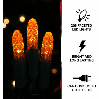 Haunted Hill Farm Haunted Hill Farm Halloween Indoor/Outdoor CrossTombstone LED Light 39 in x 54 in, FFHELED054-CRS0-ORG