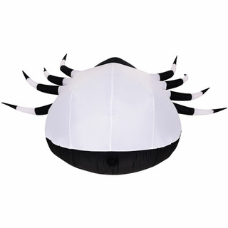 Haunted Hill Farm Haunted Hill Farm 6-Ft Inflatable Pre-Lit Spider with Disco Lights, HISPIDER061-L