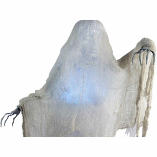 Haunted Hill Farm Life Size Poseable Animatronic Ghoul with Multi-Colored Body Lilith