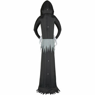 Haunted Hill Farm 12-Ft Halloween Inflatable Ghost with Lights