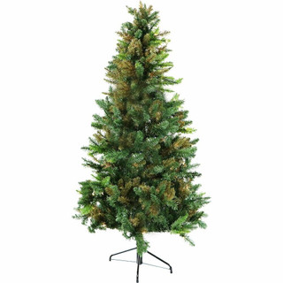 Fraser Hill Farm Festive Camo Christmas Tree, Various Sizes and Lighting Options