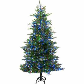 Fraser Hill Farm Aurora Christmas Tree, Various Sizes and Lighting Options