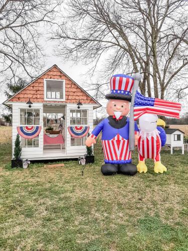 Patriotic Outdoor Decor  Ideas