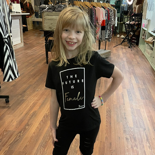 Girl's The Future is Female Tee