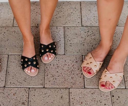 Stella Stud Sandals
