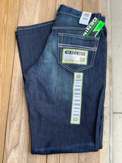 Cinch Men's Carter 2.4 Denim
