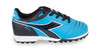 Diadora Cattura Junior Turf Soccer Shoe - Columbia | Black - Virtual Soccer Exclusive