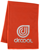 Dr. Cool Chill Sport Cooling Towel -  Mandarin Red