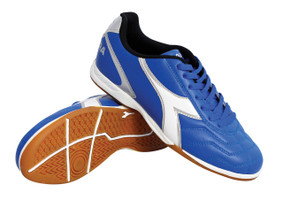 Diadora Men's Capitano Indoor Soccer Shoe - Royal - Virtual Soccer Exclusive