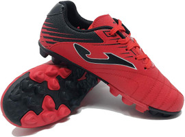 Joma Kids Toledo Junior 24 Soccer Cleat - Red | Black