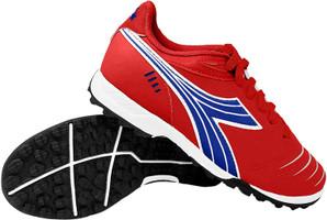 Diadora Cattura Junior Turf Soccer Shoe - Red | Royal | White
