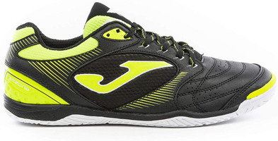 Joma Men's Dribling Indoor Soccer Shoe - Black | Fluoro Yellow