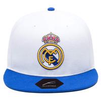 Real Madrid | Snapback Adjustable Hat | White / Blue