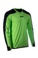 Diadora Enzo Soccer Goalkeeper Jersey - Lime Green
