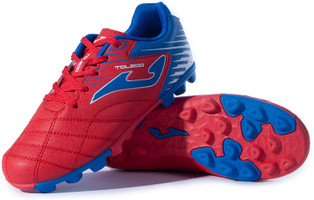 Joma Kids Toledo Junior 24 Soccer Cleat - Red | Royal