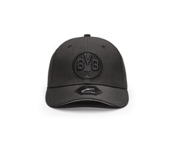 Fi Collection Borussia Dortmund 'Dusk' Adjustable Hat / Cap Black