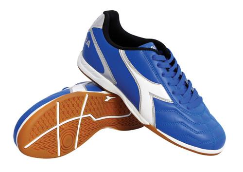 Diadora Men's Capitano Indoor Soccer Shoe - Royal - Virtual Soccer Exclusive