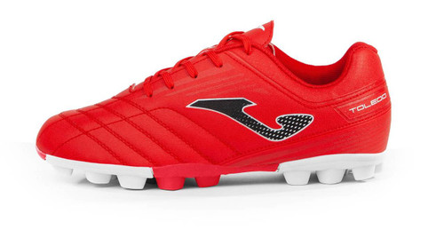 Joma Kids Toledo Junior 24 Soccer Cleat - Red - Virtual Soccer Exclusive