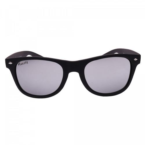 Maesta Bergamo UV 400 Glare Reducing Lightweight Sunglasses - Black