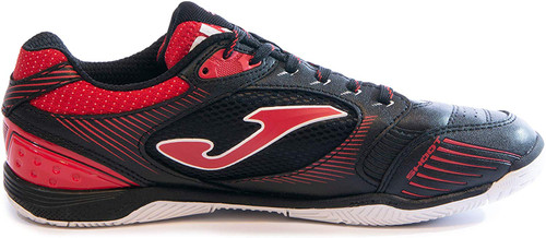 Joma Men's Dribling Indoor Soccer Shoe - Black | Red |White